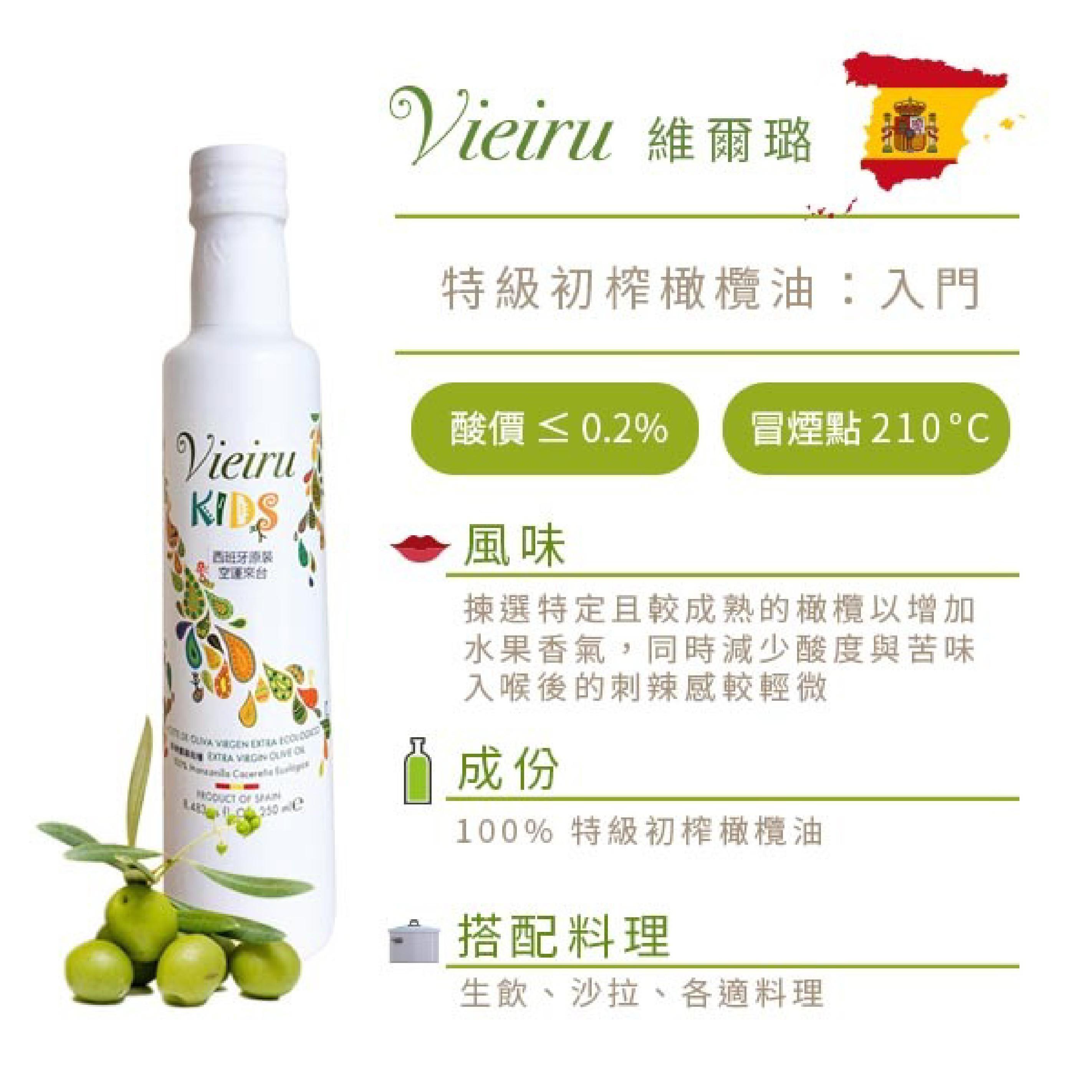 【好食好市】Vieiru 維爾璐 - 特級初榨入門橄欖油