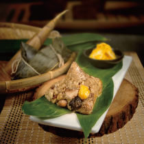 鳳眼果杏鮑菇蔬食粽